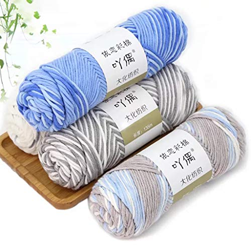 Amazon.com: FlyKits Acrylic Wool Yarn - 13 Colors Roving ...