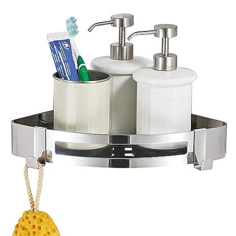 BESY - Estantería de esquina para ducha, autoadhesiva, acero ...