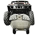 Polaris Ranger XP Crew 900 / 900-5 / 900-6 13 Piece Skid Plate Set by Ricochet For Crew 900, 5, 6 2014 2015, 2016