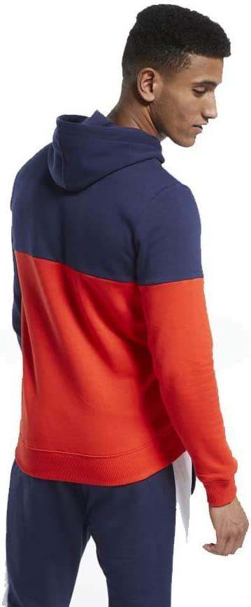 Reebok Herren Te Ll Oth Hoodie Sweatshirt Blau (Vecnav)