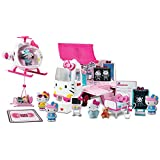 Jada 97069 Hello Kitty Rescue Set With Emergency Helicopter And Ambulance Playset, Figures And Accessories