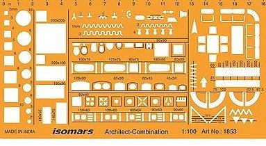 floor plan furniture symbols. Isomars Metric 1:100 Scale Architectural Drawing Template Stencil - Furniture  Symbols For House Interior Floor Plan Furniture Symbols