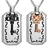 Epinki 2Pcs Couple Necklace, Stainless Steel Cubic Zirconia - Best Reviews Guide