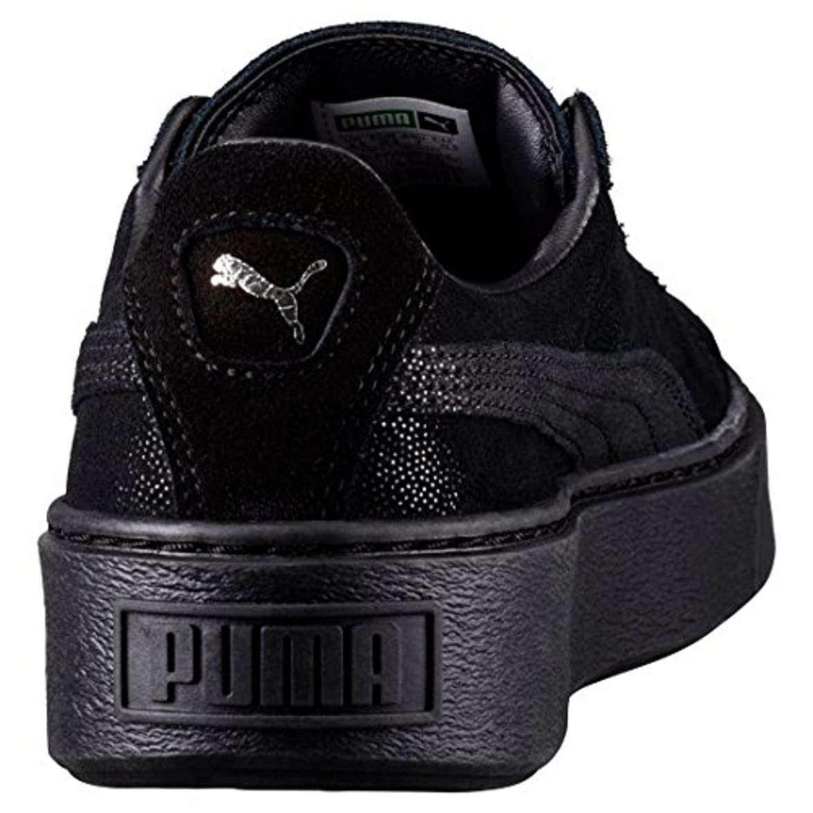Puma Basket Platform Reset Sneaker Donna Nero Noir