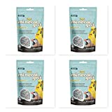 Higgins 4 Pack Mineral Grit Small Bird Calcium Supplement, 6-oz ea. with 100% Crushed Oyster Shells. Fast Delivery by Just Jak's Pet Market