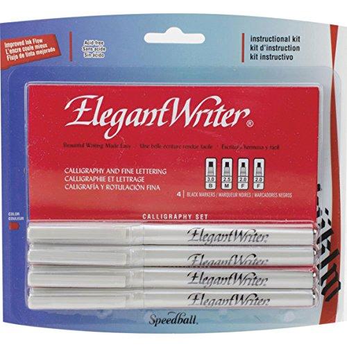 speedball-elegant-writer-4-calligraphy-marker-instructional-set