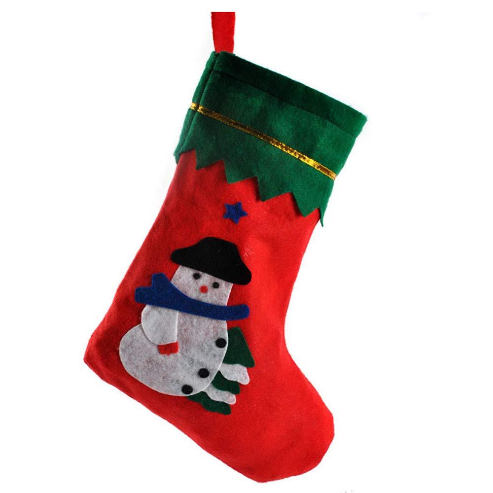 Finsink de Calcetines de Navidad Botas de Navidad Chucherías Funda de Navidad calcetín para decoración de Navidad: Amazon.es: Juguetes y juegos