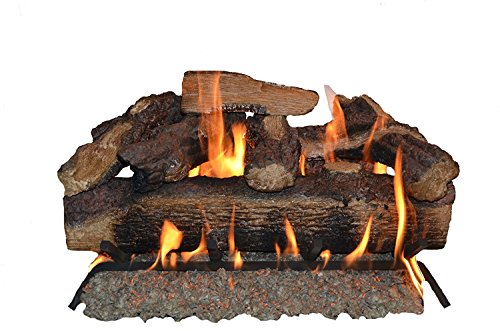 Sure Heat MO24DBRNL-60 Vented Gas Fireplace Logs, 24