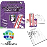 Winning Moves Games Scattergories Categories Board Game with Rainbow Dice Pack