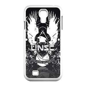 Halo N6N32E4MO funda Samsung Galaxy S4 9500 funda caso LP4JLX blanco