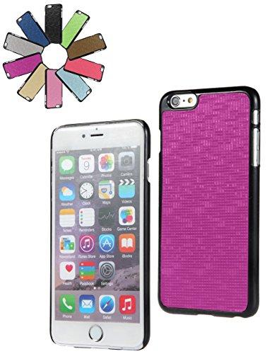 Bralexx 6223Schwarz-6225Lila-Karo Smartphone Case passend für Apple iPhone 6 Plus 13,9 cm (5,5 Zoll) lila