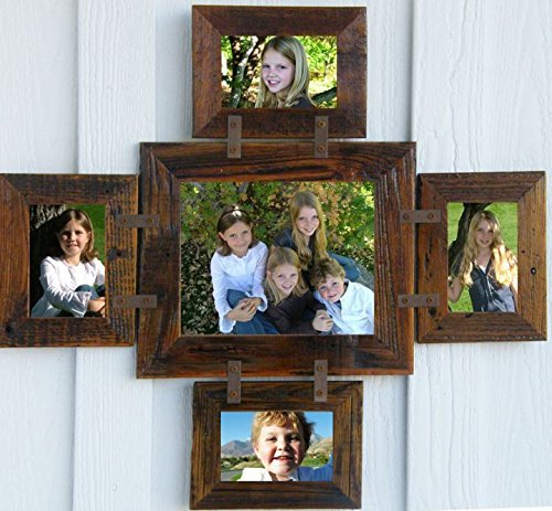 Amazoncom Montana Photo Collage Frame For 1 8 X 10 And 4 4 X