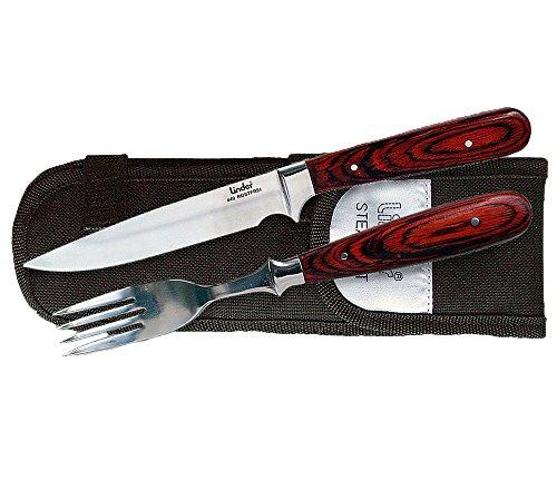 Linder Besteck Messer und Gabel, 11 cm, 361604