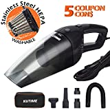 Best Car Vacs - KUTIME Car Vacuum Cleaner High Power Wet Dry Review