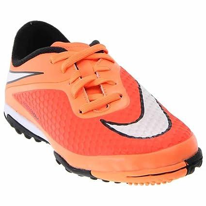 Amazon.com  Nike Hypervenom Phelon TF Junior Soccer Boots  Sports ... 873085526e49b