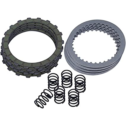 Amazon.com: Barnett Performance Products Honda Grom 125 Complete Kevlar Clutch Kit: Automotive