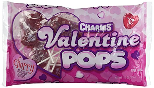 Lollipops Valentines Day (Charms Valentine Pops 11.5oz.)