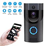 Hikity Smart WiFi Video Doorbell 720p HD Home Security Wireless Camera Low Power