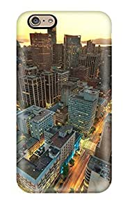 Hot Tpu Cover Case For Iphone/ 6 Case Cover Skin - Vancouver Sunset Canada