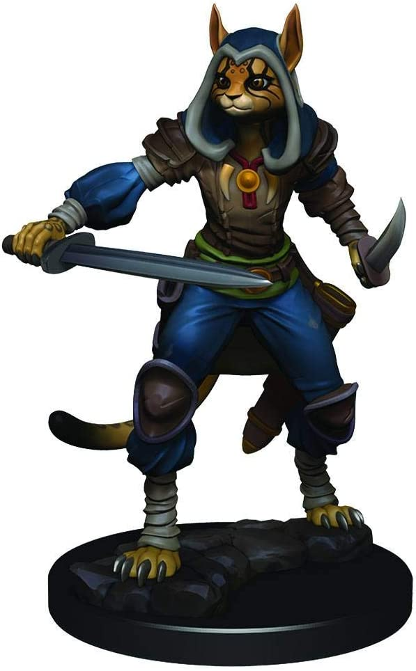 Amazon Com Wizkids Dungeons Dragons Icons Of The Realms Premium Figure Tabaxi Rogue Female Toys Games How to utilize a tabaxi monk in your game. wizkids dungeons dragons icons of the realms premium figure tabaxi rogue female