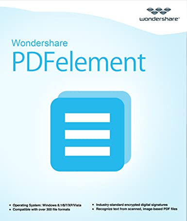 Amazon.com: All-in-One PDF Editor--Wondershare PDFelement (Windows) [Download]: Software