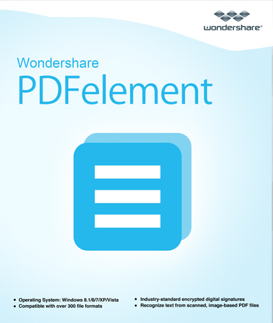- All-in-One PDF Editor--Wondershare PDFelement (Windows) [Download]