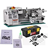 Metal Lathe - Mophorn Metal Lathe 8x16 Inch Precision Mini Lathe 2500 RPM 750W Variable Speed Milling Benchtop Wood Lathe with Digital Control System (8 x 16 Inch 750W)