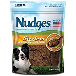 Nudges Sizzlers Dog Treats, Beef & Cheese, 18 Ounce by Tyson Pet Products