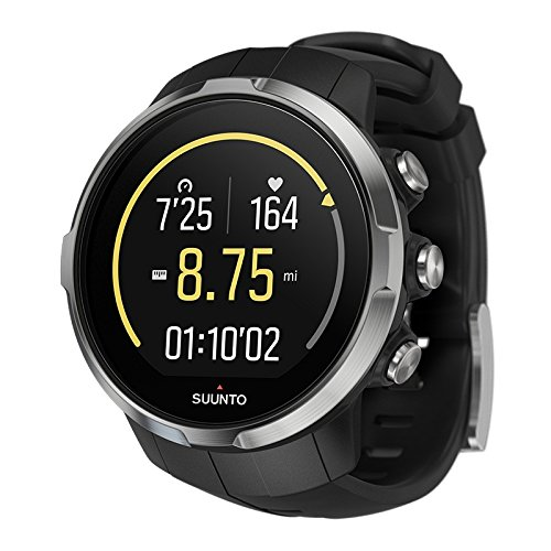 Suunto Unisex Spartan Sport Black (HR) Digital Display Outdoor Watch, Black...
