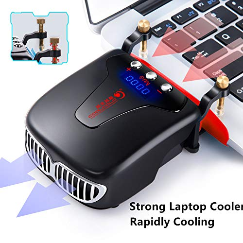 Computers & Accessories Cooling Pads & External Fans LCD Display ...