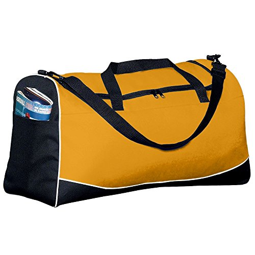 Large Tri-Color Sport Bag - Gold (Sport Tri Color Bag)
