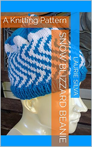Snow Blizzard Beanie: A Knitting Pattern