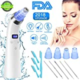 Blackhead Remover Vacuum, YEEGO Blackhead Removal Acne Suction Tool Facial Electric Pore Cleaner Eliminator Device Remover Vacuum Comedone Exfoliating Machine for Men&Women (Extra Bonus) For Sale