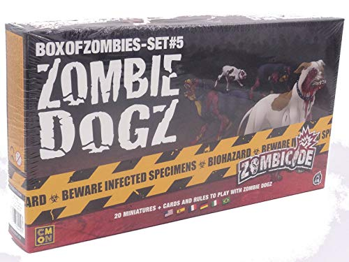 Z-man Games Espa/ña Color Zombie Dogz