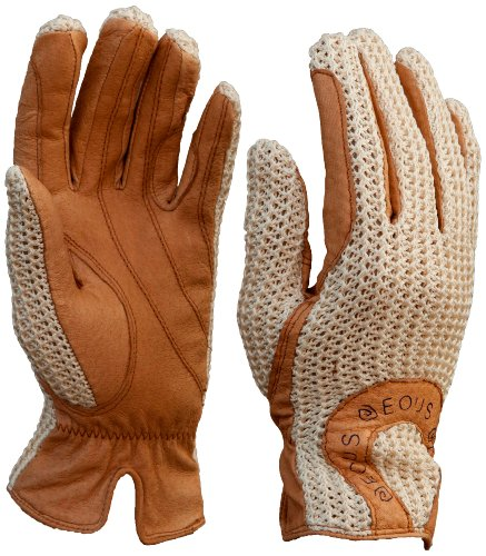 EOUS Leather Gloves - Adult (Natural, X-Large)