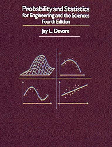 Probability and Statistics for Engineering and the Sciences, 4th Edition (Book and Disk)