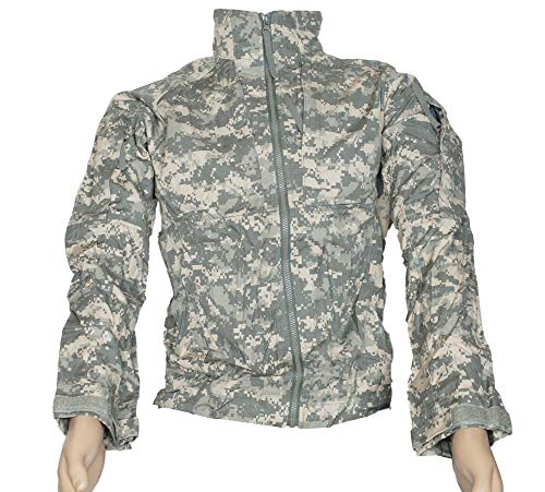 Massif Enhanced Combat Crewman (ECVC) Jacket Flame Resistant Wind Jacket ACU (Small Long)