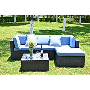 519%2BNJujoOL._SS300_ 100+ Black Wicker Patio Furniture Sets For 2020