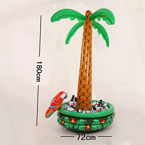 Amazon.com: TOYMYTOY Inflatable Palm Tree Cooler - 71 Inch ...