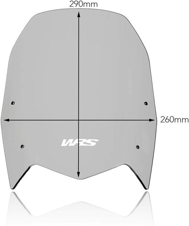 Windschild Standard Rauch WRS TENERE 700 2019-2021