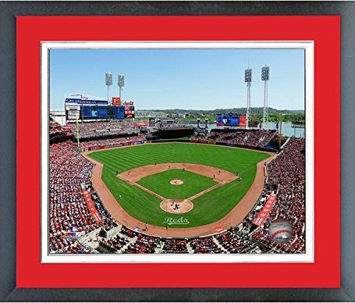 Cincinnati Reds Great American Ball Park 2016 MLB Stadium Photo (Size: 13