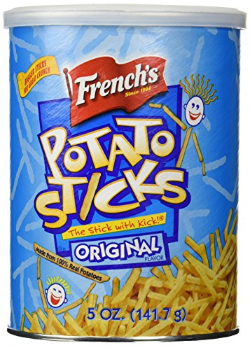 French's, Potato Sticks, Original, 5oz Canister (Pack of 3) (Best French Fries In Miami)