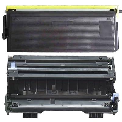 (1 Drum + 1 Toner) Inktoneram® Replacement toner cartridges & drum for Brother TN460 TN430 DR400 Toner Cartridges & Drum replacement for Brother DR-400 TN-460 TN-430 Set DCP-1200 DCP-1400 HL-1030 HL-1230 HL-1240 HL-1250 HL-1270N HL-1435 HL-1440 HL-1450 HL