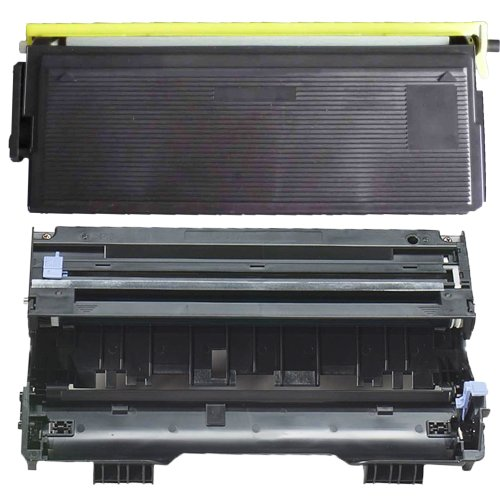(1 Drum + 1 Toner) Inktoneram® Replacement toner cartridges & drum for Brother TN570 TN540 DR510 Toner Cartridges & Drum replacement for Brother DR-510 TN-570 TN-540 Set DCP-8040 DCP-8040D DCP-8045D HL-5100 HL-5130 HL-5140 HL-5150D HL-5150DLT HL-5170DN H