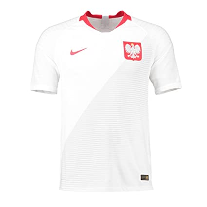 the best attitude f08f9 71c47 Amazon.com : Nike 2018-2019 Poland Home Vapor Match Football ...