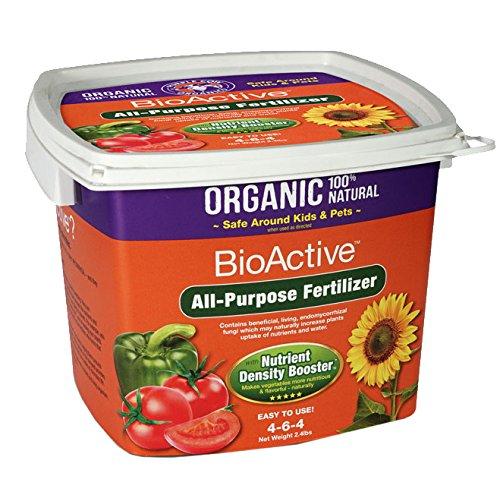 Purple Cow Organics 00020 Tub All Purpose Fertilizer, 2.4 lb (Cow Food)