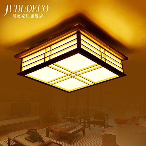 BLYC- Modernen chinesischen Stil Lampe Decke Licht Romantisches Schlafzimmer Quadrat Schlafzimmer Wohnzimmer Lampe Leuchte Lampe Durchmesser der Halle 550 * 550 * 150 mm