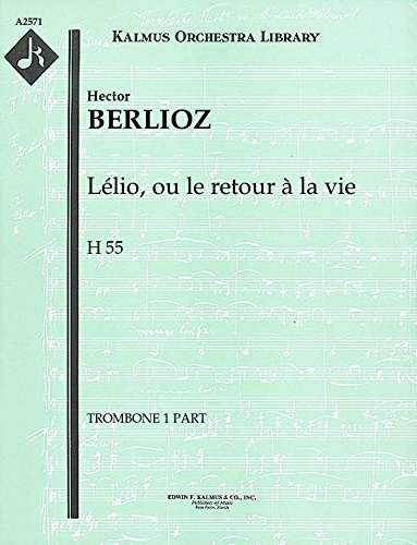 Lélio, ou le retour à la vie, H 55: Trombone 1, 2 and 3 parts [A2571]