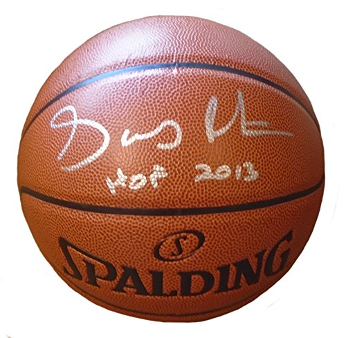Seattle Supersonics Gary Payton Autographed Hand Signed NBA Spalding Basketball with Hall of Fame Inscription and Exact Proof Photo of Signing, Los Angeles Lakers, Miami Heat, Oregon State - Heat Miami Spalding
