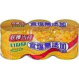 いなば 食塩無添加コーン 200g3缶パック×4個(計12個)